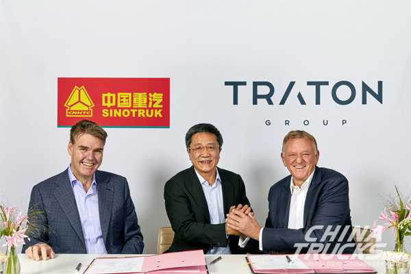 Sinotruk and TRATON Significantly Expand Strategic Partnership