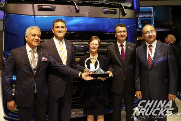 IAA 2018: Ford F-Max Crowned International Truck of the Year 2019