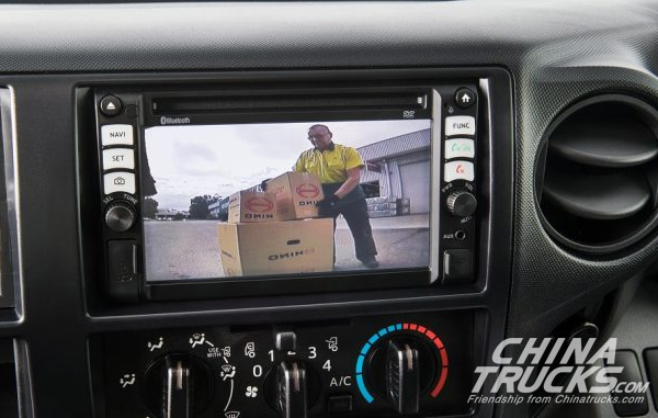 Reverse Camera to Come as Standard on All Hino Trucks Sold in the Aussie Market