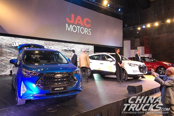 JAC Officially Launched into Argentina Market