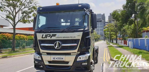 Beiben 4×2 Truck Obtains Entry Certificate in Singapore