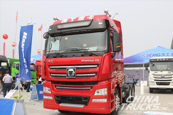 XCMG Brings Six Star Vehicles On Display at Liangshan Special Vehicle Expo