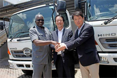 Hino Improves Kenyan Customers Experience with the Brand