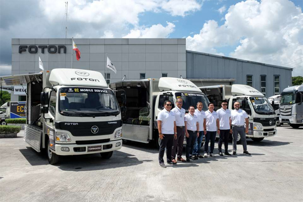 Foton Philippines Launches Industry-first EC Mobile Service Program