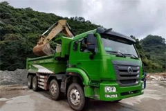 First Batch of 200 Sinotruk Intelligent Muck Trucks to be Delivered in Shenzhen