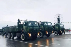 39 Beiben Trucks Attended Equatorial Guinea's 50th Independence Anniversary