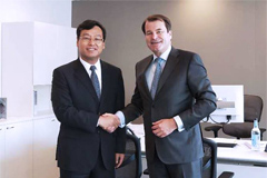Linglong Tire Held Business Investment Talk with EBRD