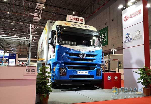 SAIC Hongyan Debuts at China International Auto Products Expo