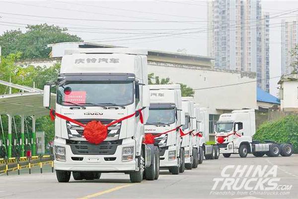 50 Units Qingling Heavy-duty Trucks to Hit ASEAN Market