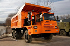Beiben Secures an Order of 20 Units Self-dumping Trucks