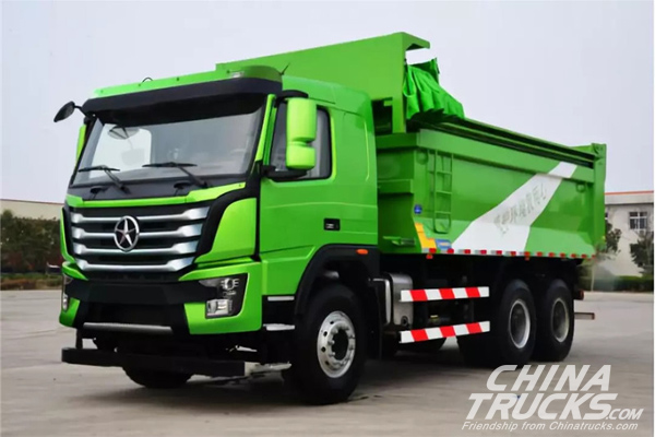 Dayun N8V Truck for Transporting Construction Wastes Makes its Debut