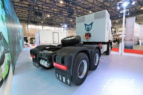 Dayun E8 6X4 Pure Electric Tractor+CATL Battery+Prestolite Motor+TOP Gear+Dayun Chassis