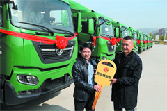311 Units Dongfeng KR Trucks to Arrive in Beijing for Operation