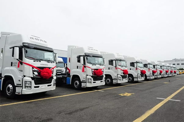 Qingling Exports 50 Heavy-duty Trucks to ASEAN for the First Time