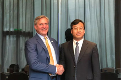 Linglong Held High-level Talks with SI Group