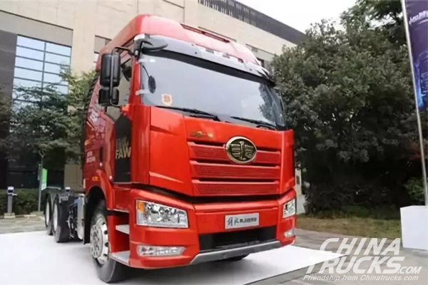 FAW Jiefang Sold 237,500 Medium-and Heavy-duty Trucks between Jan. and Oct.