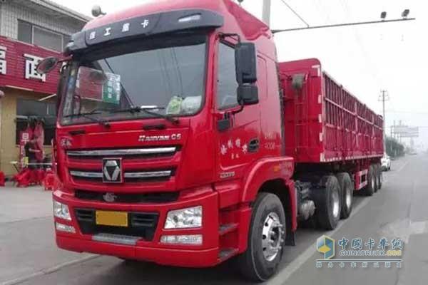 XCMG Secures Orders of 50 Units HANVAN G5 Trucks in Handan