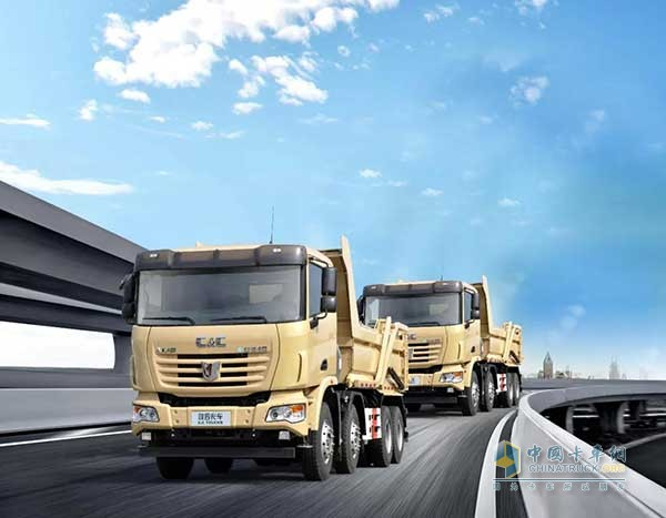 C&C Delivers 40 LNG Muck Trucks to Its Customer from Shenzhen