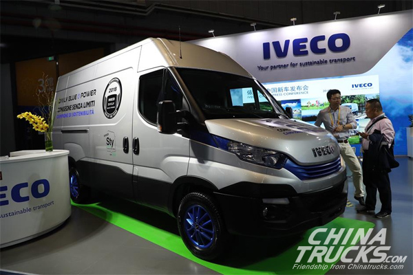 IVECO Catches the Eye with NG Technology at CIIE