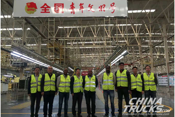 37 Units Dongfeng KR Delivered to Its First East African Customers