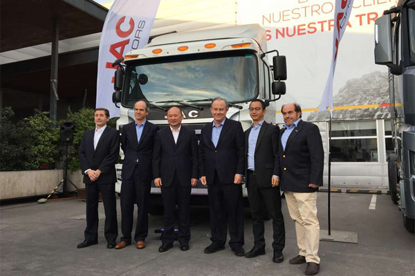 The 10th Anniversary Ceremony of JAC in Chile is Held Grandly