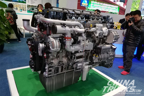YCK15N Series NG Engine