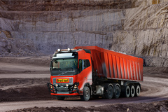 Volvo's Driverless Trucks Begin Working at a mine in Norway