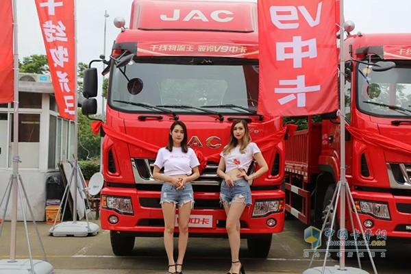 JAC Junling V9 Won the Highest Efficient Medium Truck Award