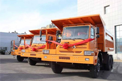 20 Units Beiben Trucks Delivered to Congo for Operation
