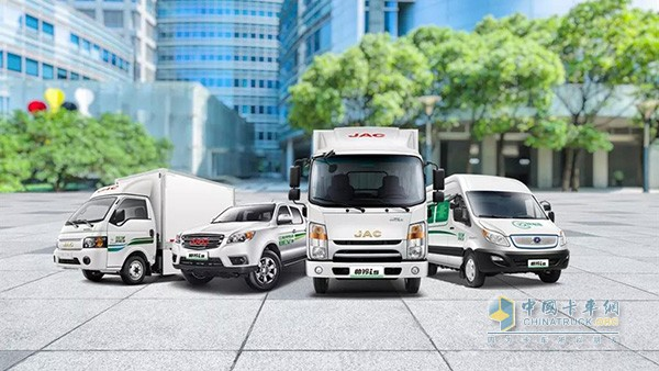 JAC Shuailing i Series New Energy Trucks Ensure Higher Food Safety