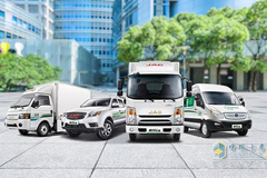 JAC Shuailing i Series New Energy Trucks Ensure Food Delivered Fresh