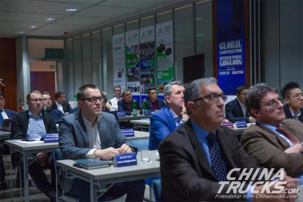 Linglong Tire Held Core Strategic Partners High-end Seminar in Italy