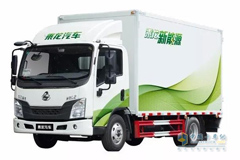 Chenglong L2 Electric Vehicle Ushers a New Era for Urban Logistic Services