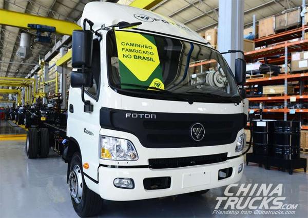 Foton Motor to build truck factory in Brazil