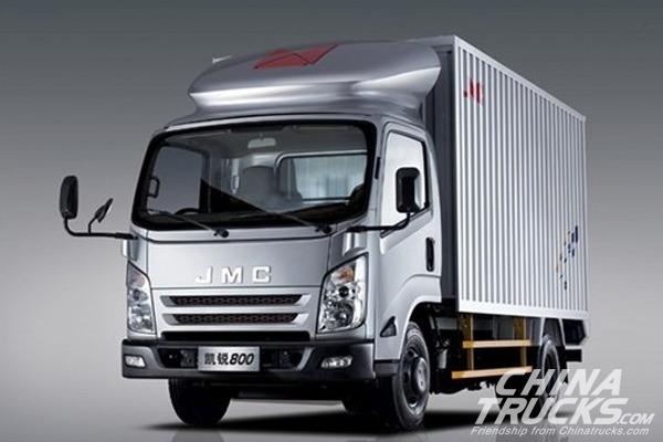 JMC Rolls Out Kairui 800HP Truck