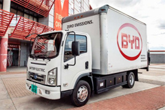 BYD Launches Electric Trucks and Van in Europe