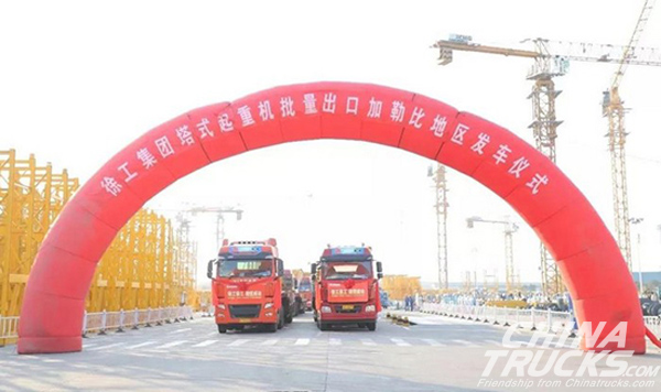 XCMG Tower Cranes Exported to Caribbean Region in Winter