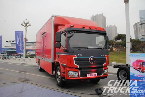 SHACMAN Rolled Xuande E6 Electric Truck