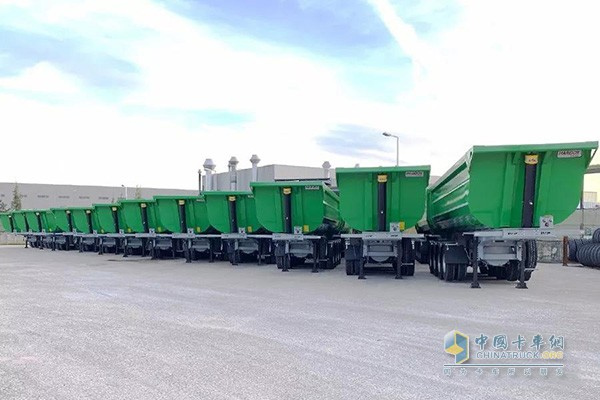 100 Invepe Trailers with Hyva