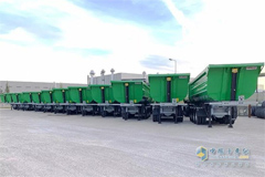100 Invepe Trailers with Hyva Alpha Series Tipping Solutions Export to Nigeria