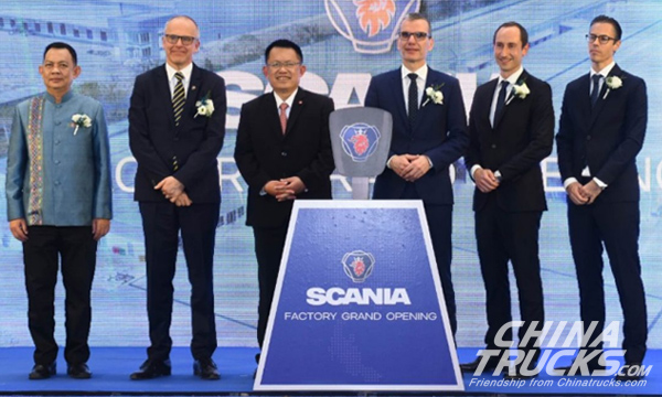 Scania Opens a New Factory in Thailand