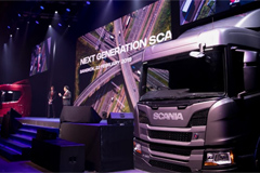 Scania Unveiled an Entire Range of New Trucks in Thailand