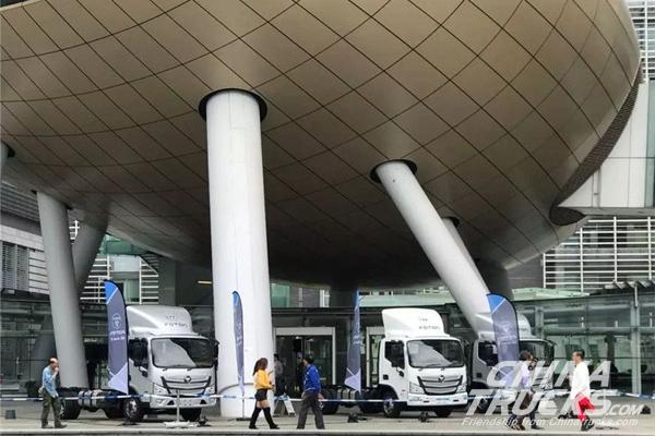 Foton Aumark S Super Truck Unveils in Hong Kong