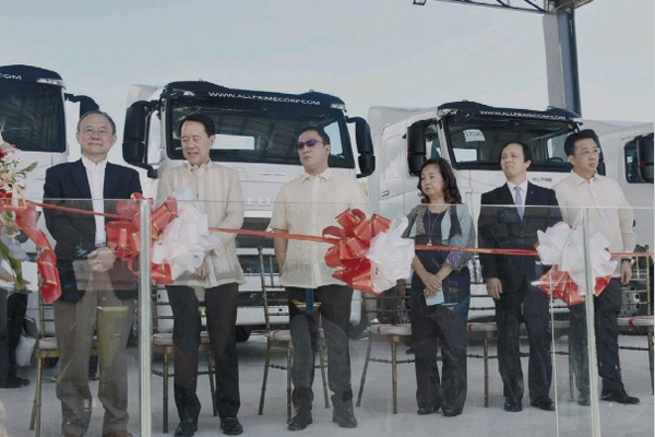 Sinotruk Name All Prime Int'l as Its Sole Distributor in Visayas, Philippines