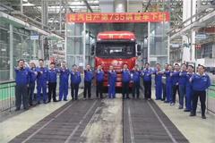 Jiefang Qingdao Automobile Daily Production Volume Reaches 735 Units