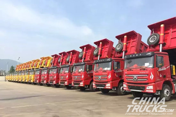 XCMG Got One More Order for 30 Hanvan G7 Vehicles from Its Old Customer