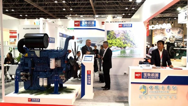 Yuchai Brings YC6TD and YC4D on Display at Middle East Electric Equipment Expo