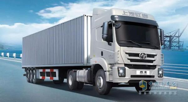 Hongyan GENTRUCKis Coming, Special for Port Transport