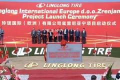 Linglong Starts Building Serbia Tire Plant