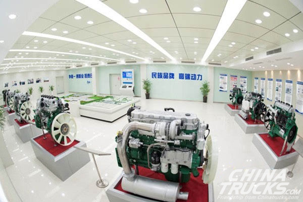 Jiefang's Engine Division Export Volume Grew 53.7%
